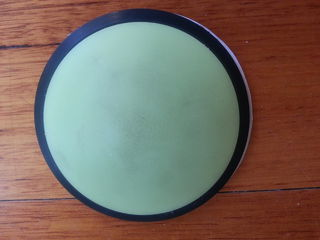 GITD Dome with self adhesive backing, 95mm wide, 25mm high
