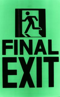 Glow In The Dark Exit Signs & Other Signs