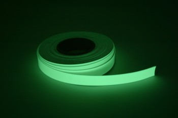 Glow ribbon 25 mm wide 10 metre roll without adhes