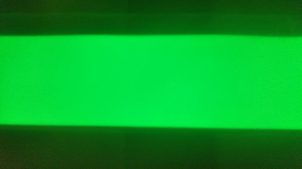 Green super strong glow tape 50mm x 500mm with 3M adhesive