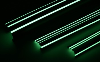 Stair nosing 3 glow strips 48mm wide x 1.2m length